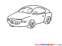 Printable Coloring Sheets Car download