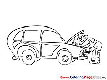 Repair Coloring Sheets download free