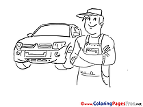 Repair download printable Coloring Pages