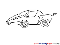 Sport Car Coloring Pages for free