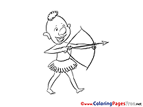 Archer download printable Coloring Pages