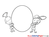 Children download printable Coloring Pages