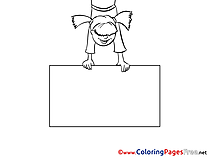 Poster Coloring Pages for free
