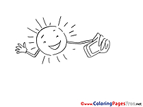 Selfie download printable Coloring Pages