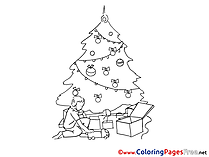 Car Toys Christmas free Coloring Pages
