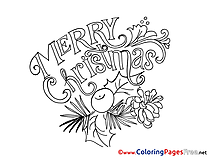 Cone free Christmas Coloring Sheets