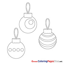 Toys Christmas Coloring Pages download
