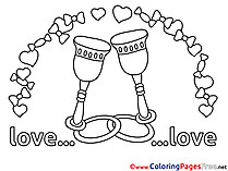 Glasses Kids Love Coloring Pages