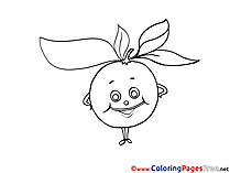 Apple Coloring Sheets download free