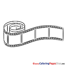 Film Children download Colouring Page