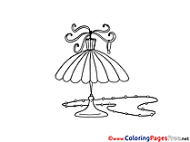 Lamp Kids free Coloring Page