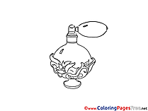 Perfume printable Coloring Sheets download