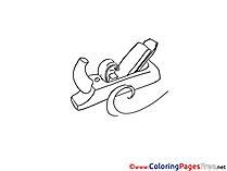 Planer Kids free Coloring Page