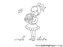 Celebration Easter Colouring Sheet free