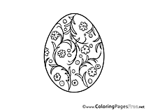 Easter Coloring Pages download