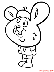 Easter colouring page for free Easter