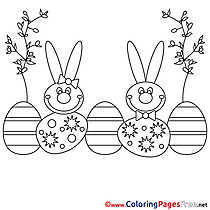 Festival free Easter Coloring Sheets
