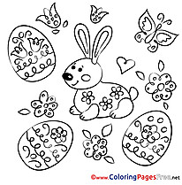 Pascha Easter Coloring Pages free