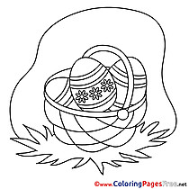 Pascha Kids Easter Coloring Pages