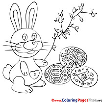 Passover Easter Coloring Pages free