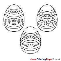 Sunday for Kids Easter Colouring Page