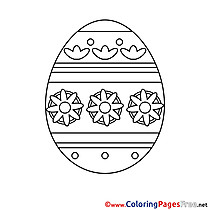 Sunday printable Coloring Pages Easter