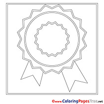 Award download printable Coloring Pages