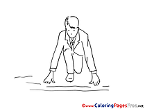 Career Colouring Sheet download free