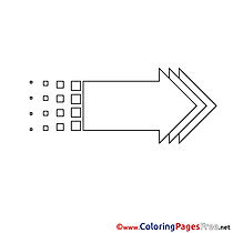 Coloring Pages Arrow for free