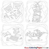 Coloring Pages Job for free