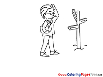 Crossroads Coloring Sheets download free
