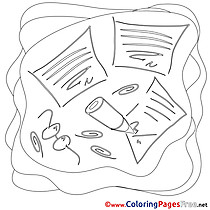 For free Job Coloring Pages download