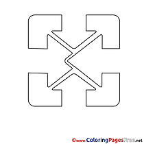 Logo for Children free Coloring Pages