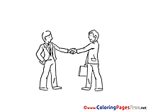 Meeting Coloring Sheets download free