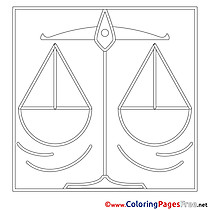 Scale printable Coloring Pages for free
