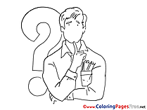 Task Coloring Sheets download free