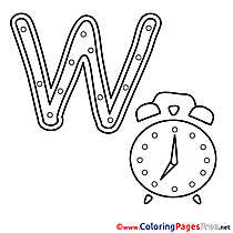 Watch Kids Alphabet Coloring Pages