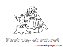 Bird Bag for Children free Coloring Pages