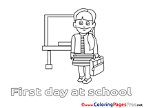 Chalkboard download printable School Coloring Pages