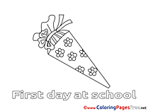 Colouring Sheet download free School