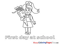 Download Coloring Pages Kid School
