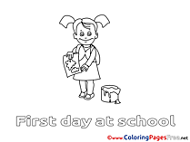 Drawing Lesson Children Coloring Pages free