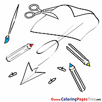 Drawing Lesson printable Coloring Sheets download