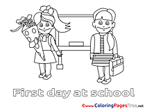 Free Coloring Pages Pupils download