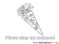 Free printable Coloring Sheets School