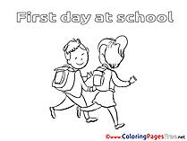 Kids Colouring Sheet download free