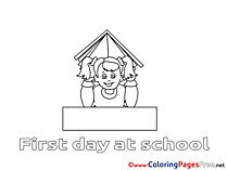 Kids free Coloring Page Book