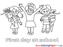 Pupils Coloring Sheets download free
