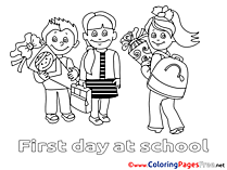 Pupils Kids download Coloring Pages