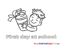 School Kids download Coloring Pages